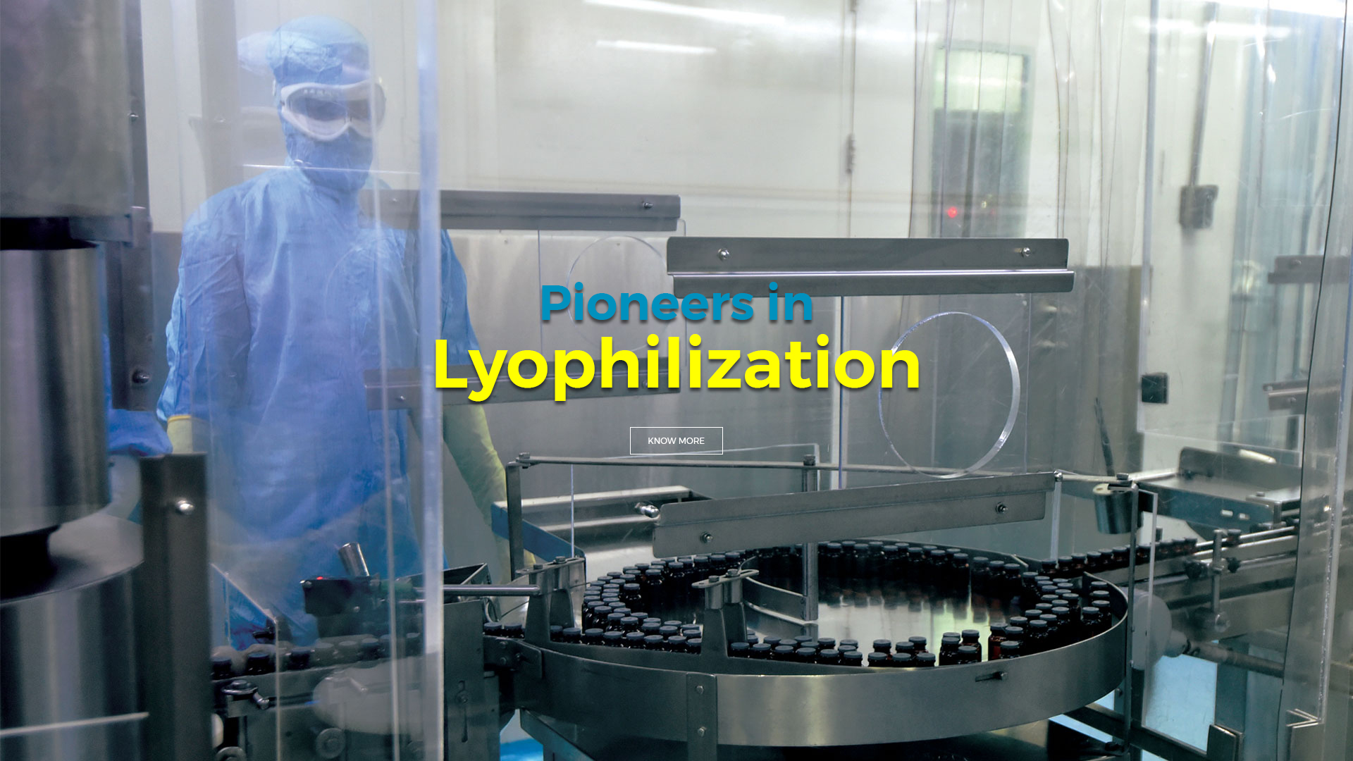 Pioneers in Lyophilization